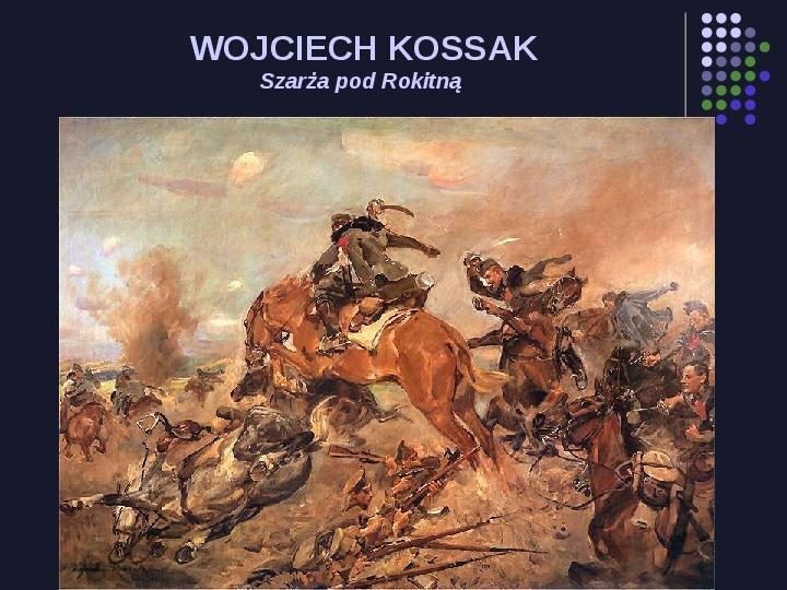 Historia Polski w malarstwie - Slajd 58