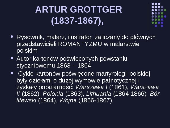 Historia Polski w malarstwie - Slajd 63