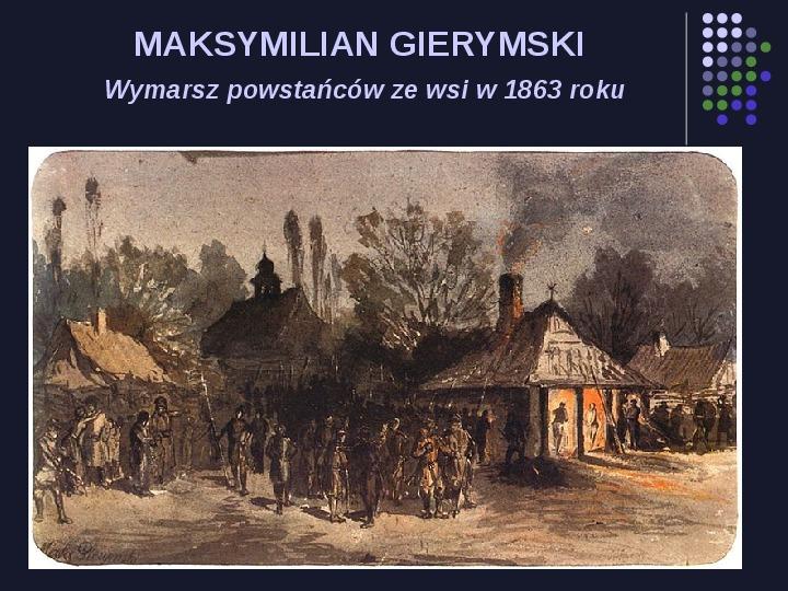 Historia Polski w malarstwie - Slajd 77
