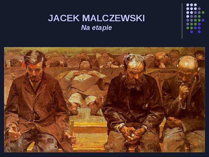 Historia Polski w malarstwie - Slajd 78
