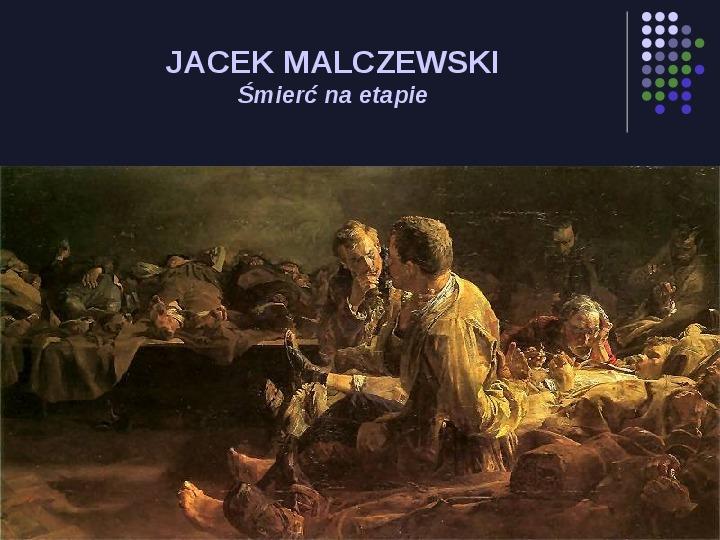 Historia Polski w malarstwie - Slajd 79
