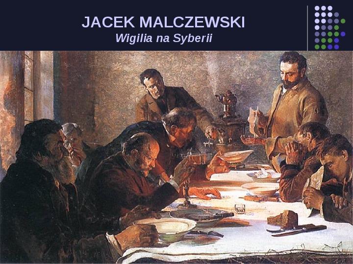 Historia Polski w malarstwie - Slajd 80