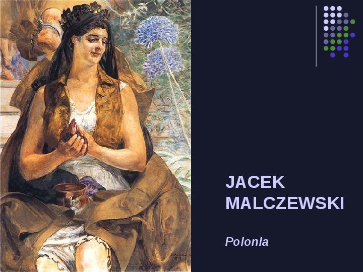 Historia Polski w malarstwie - Slajd 82
