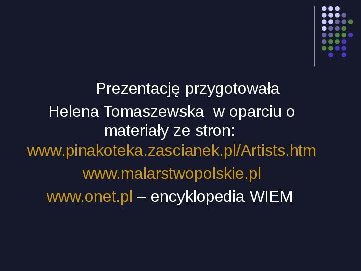 Historia Polski w malarstwie - Slajd 83