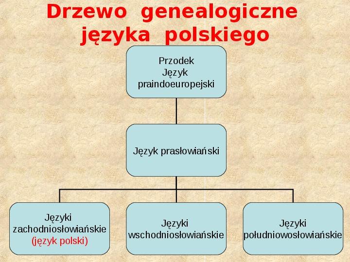 Historia Języka Polskiego - Slajd 8
