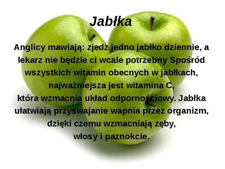 Zasady zdrowego odżywiania - Slajd 26