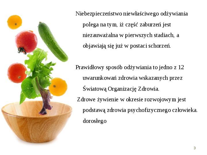 Zdrowe odżywianie w rodzinie - Slajd 2