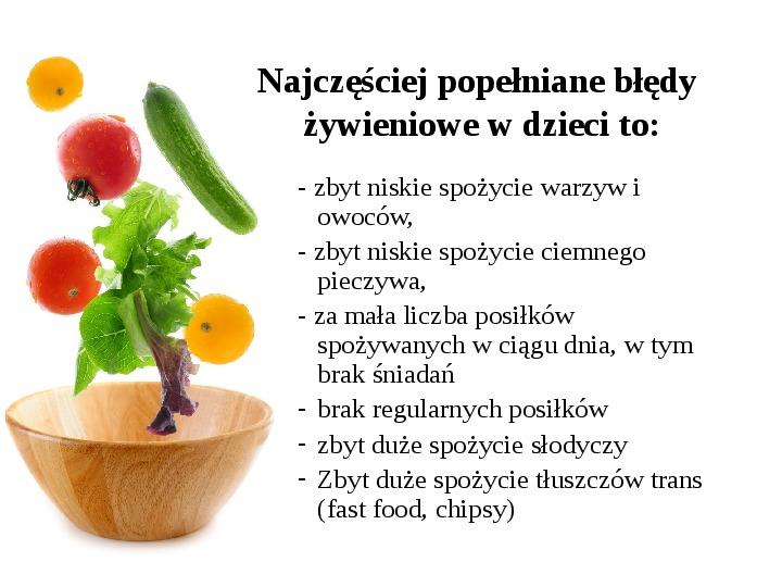 Zdrowe odżywianie w rodzinie - Slajd 3