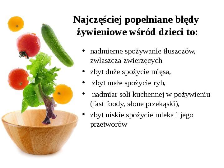 Zdrowe odżywianie w rodzinie - Slajd 4