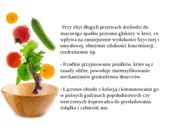 Zdrowe odżywianie w rodzinie - Slajd 5