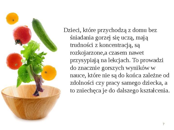 Zdrowe odżywianie w rodzinie - Slajd 6