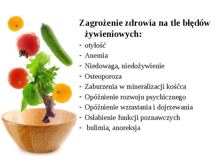 Zdrowe odżywianie w rodzinie - Slajd 9