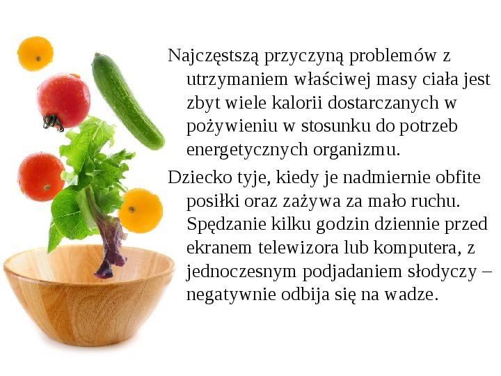 Zdrowe odżywianie w rodzinie - Slajd 11