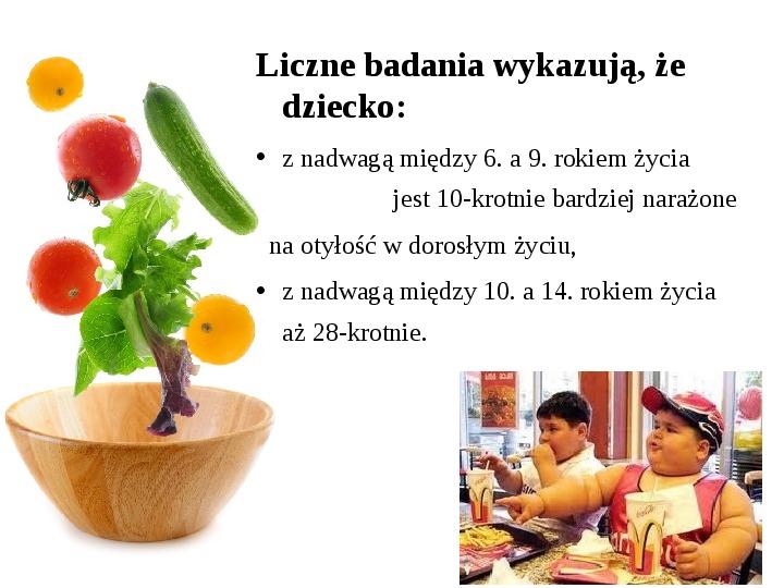 Zdrowe odżywianie w rodzinie - Slajd 13