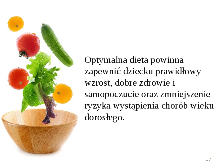 Zdrowe odżywianie w rodzinie - Slajd 16