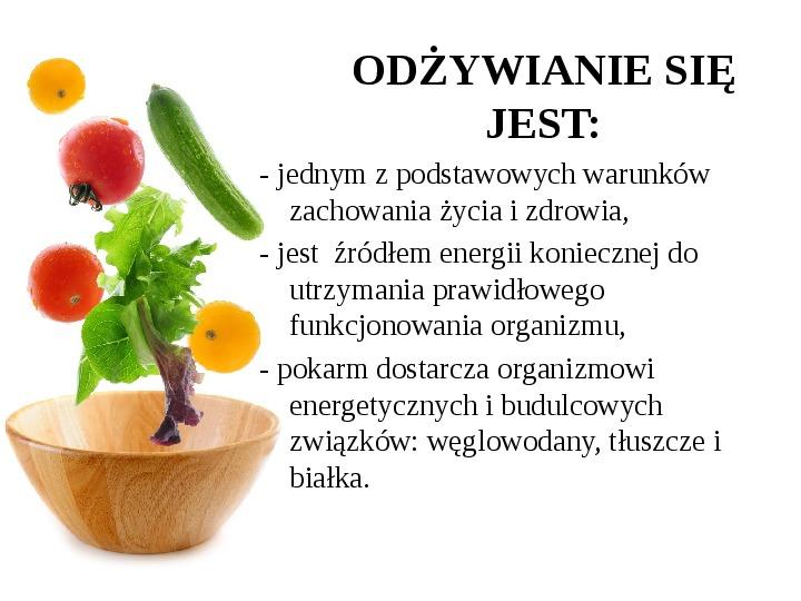 Zdrowe odżywianie w rodzinie - Slajd 17