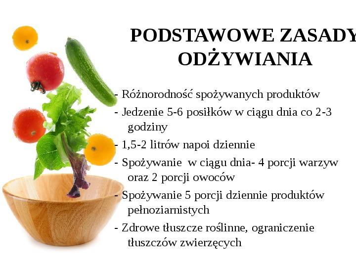 Zdrowe odżywianie w rodzinie - Slajd 25