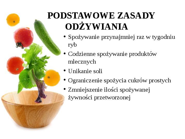 Zdrowe odżywianie w rodzinie - Slajd 26