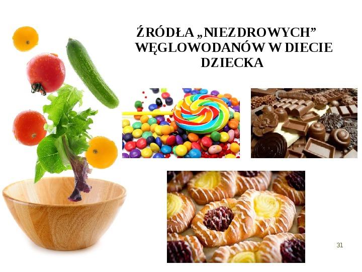 Zdrowe odżywianie w rodzinie - Slajd 30