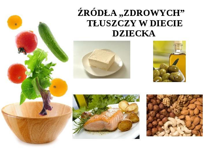 Zdrowe odżywianie w rodzinie - Slajd 33