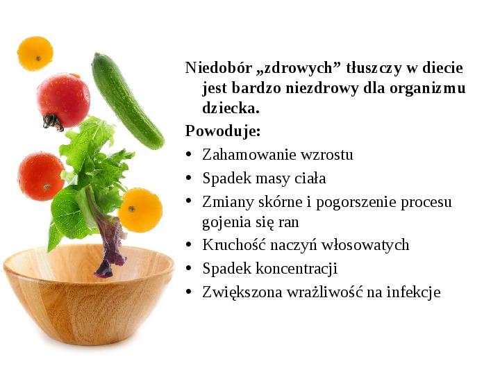 Zdrowe odżywianie w rodzinie - Slajd 34