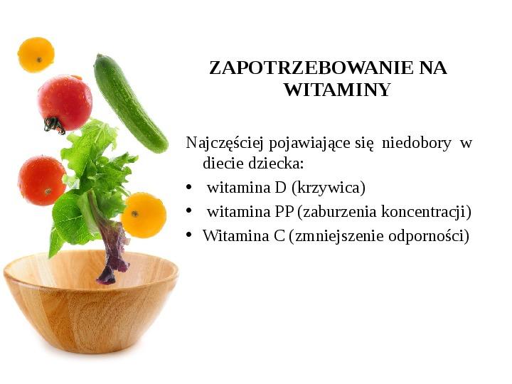 Zdrowe odżywianie w rodzinie - Slajd 36
