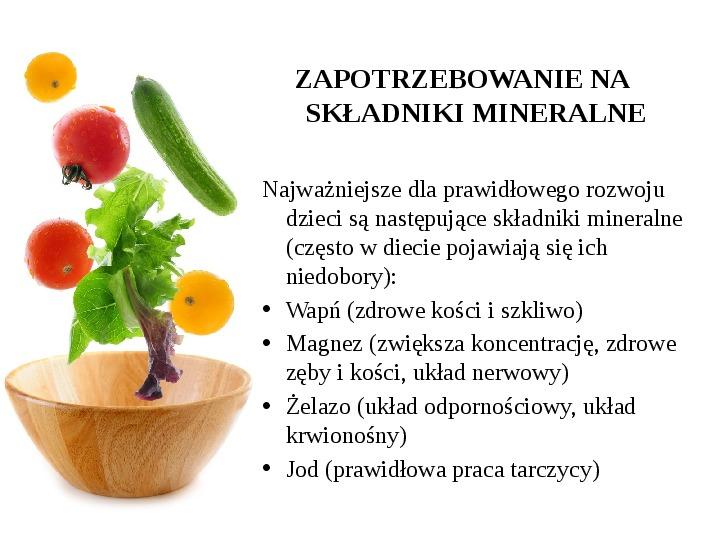 Zdrowe odżywianie w rodzinie - Slajd 37