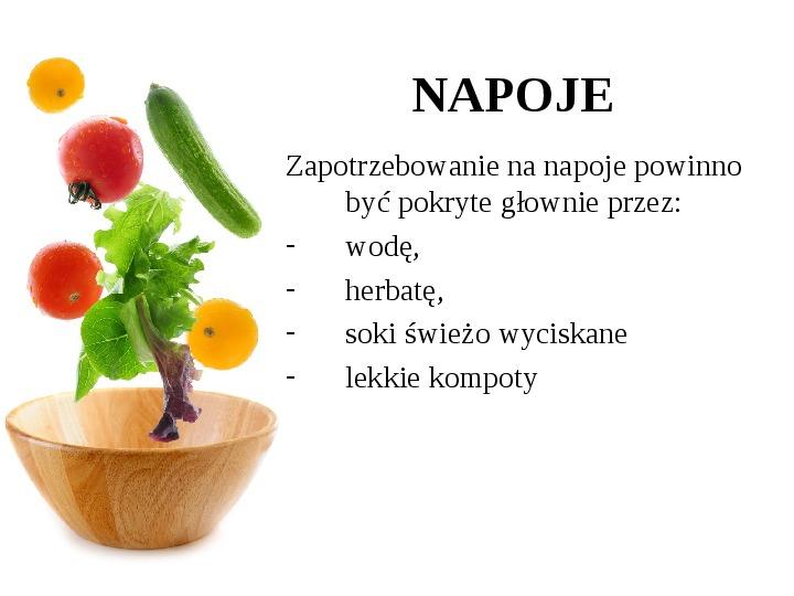 Zdrowe odżywianie w rodzinie - Slajd 43