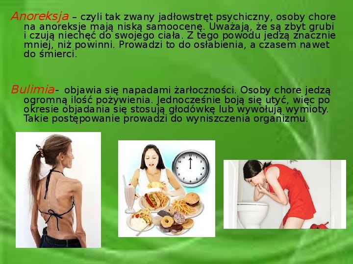 Wpływ prawidłowego odżywiania na zdrowie człowieka - Slajd 14