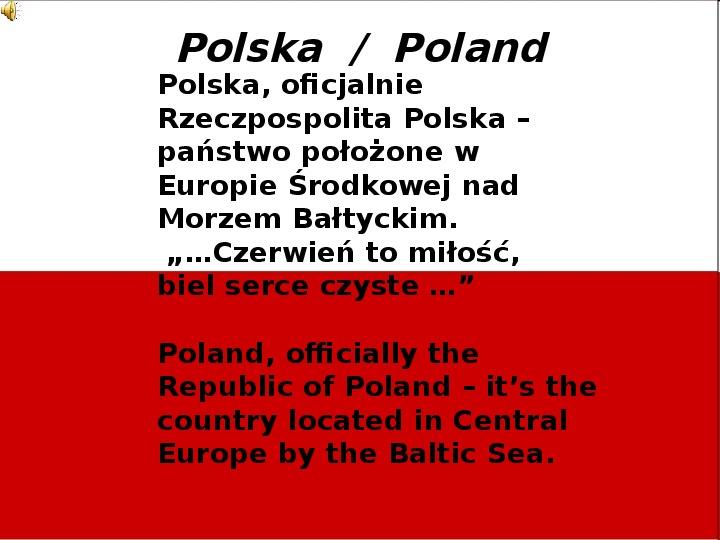 Polskie Święta Narodowe - Slajd 1