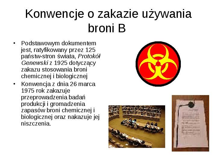 Broń biologiczna - Slajd 6