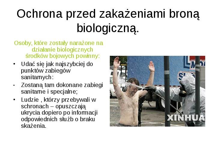 Broń biologiczna - Slajd 20