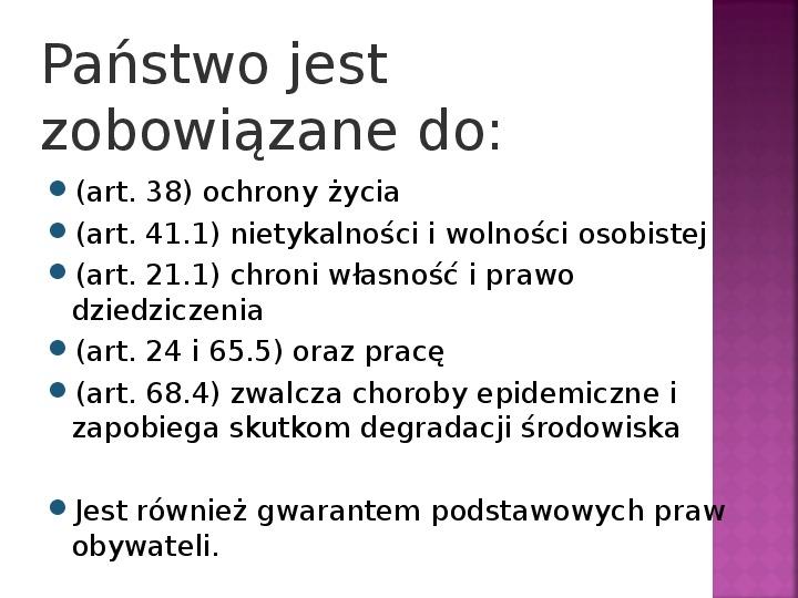 Stany nadzwyczajne w Polsce - Slajd 1