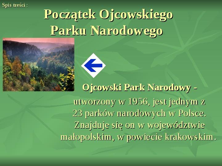 Ojcowski Park Narodowy - Slajd 3