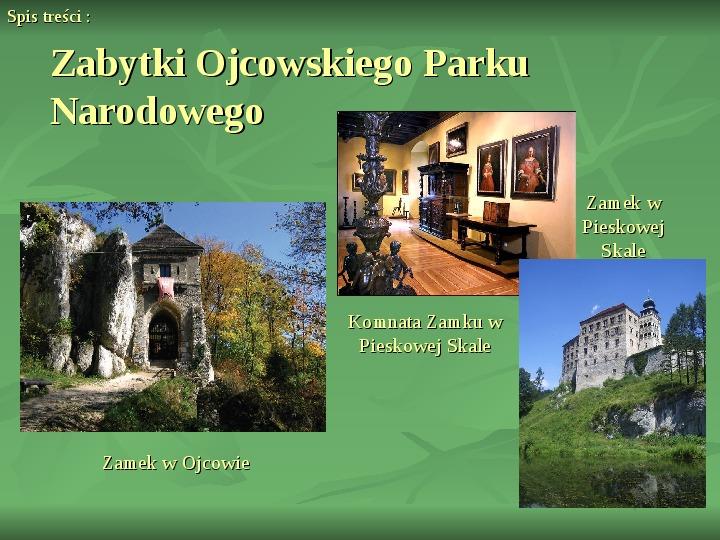 Ojcowski Park Narodowy - Slajd 6