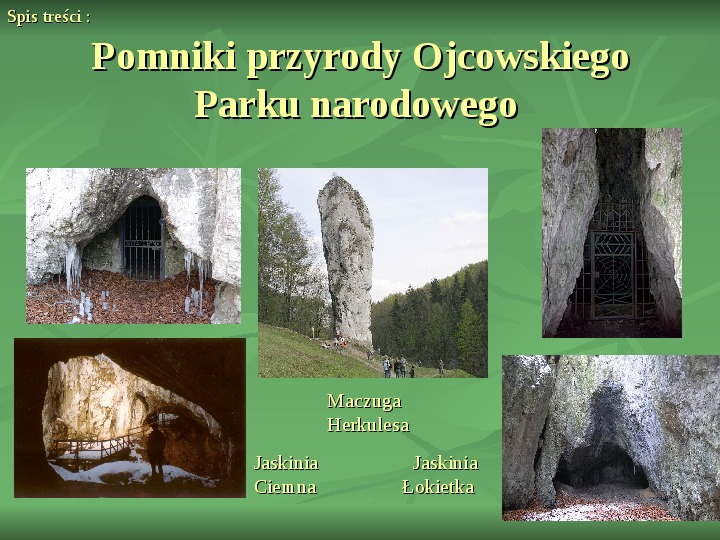 Ojcowski Park Narodowy - Slajd 7