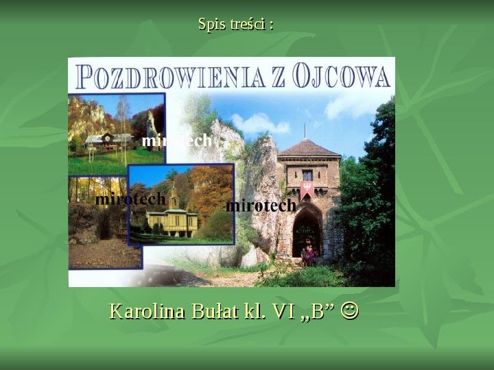 Ojcowski Park Narodowy - Slajd 10