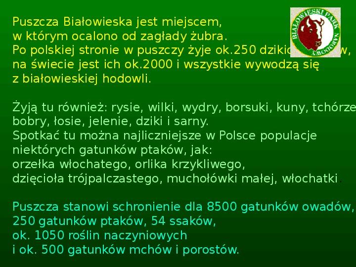 Parki narodowe w Polsce - Slajd 6