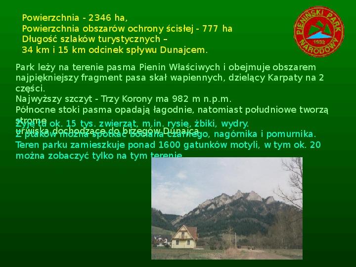 Parki narodowe w Polsce - Slajd 8