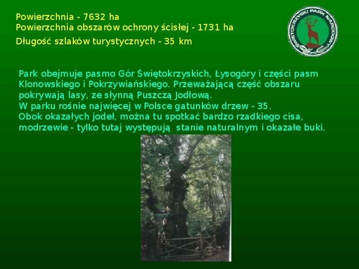 Parki narodowe w Polsce - Slajd 11