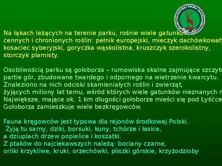 Parki narodowe w Polsce - Slajd 12