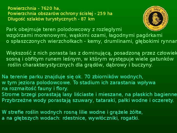 Parki narodowe w Polsce - Slajd 22