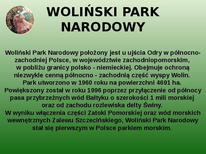 Parki narodowe w Polsce - Slajd 27