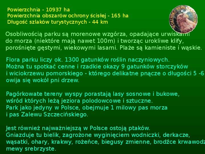 Parki narodowe w Polsce - Slajd 28