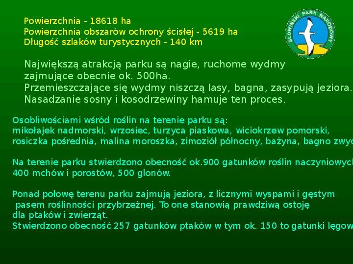 Parki narodowe w Polsce - Slajd 30