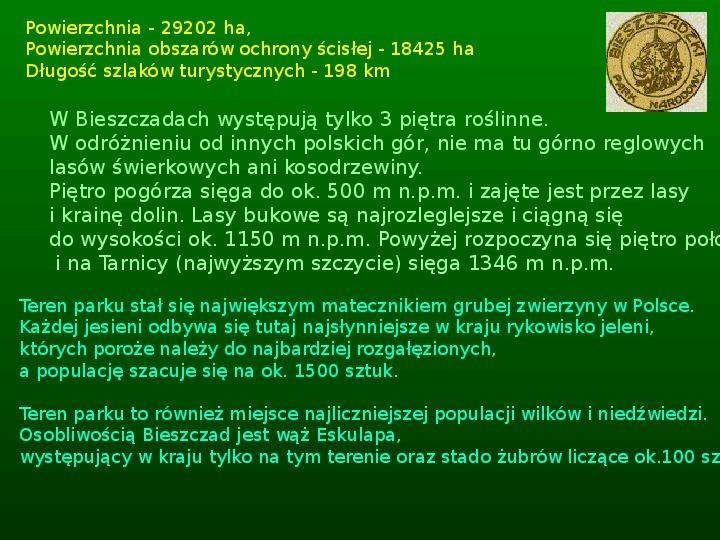 Parki narodowe w Polsce - Slajd 32