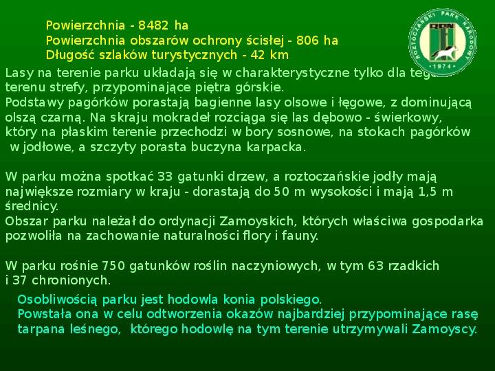 Parki narodowe w Polsce - Slajd 34