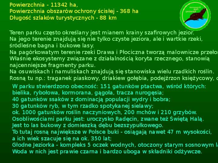 Parki narodowe w Polsce - Slajd 40