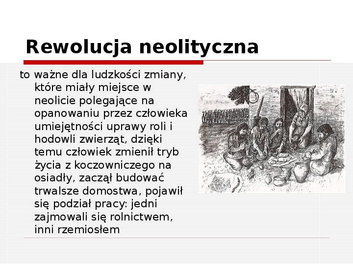 Początki cywilizacji - Slajd 19