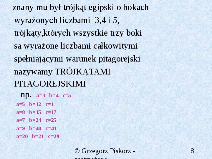 Matematyka starożytna - Slajd 7